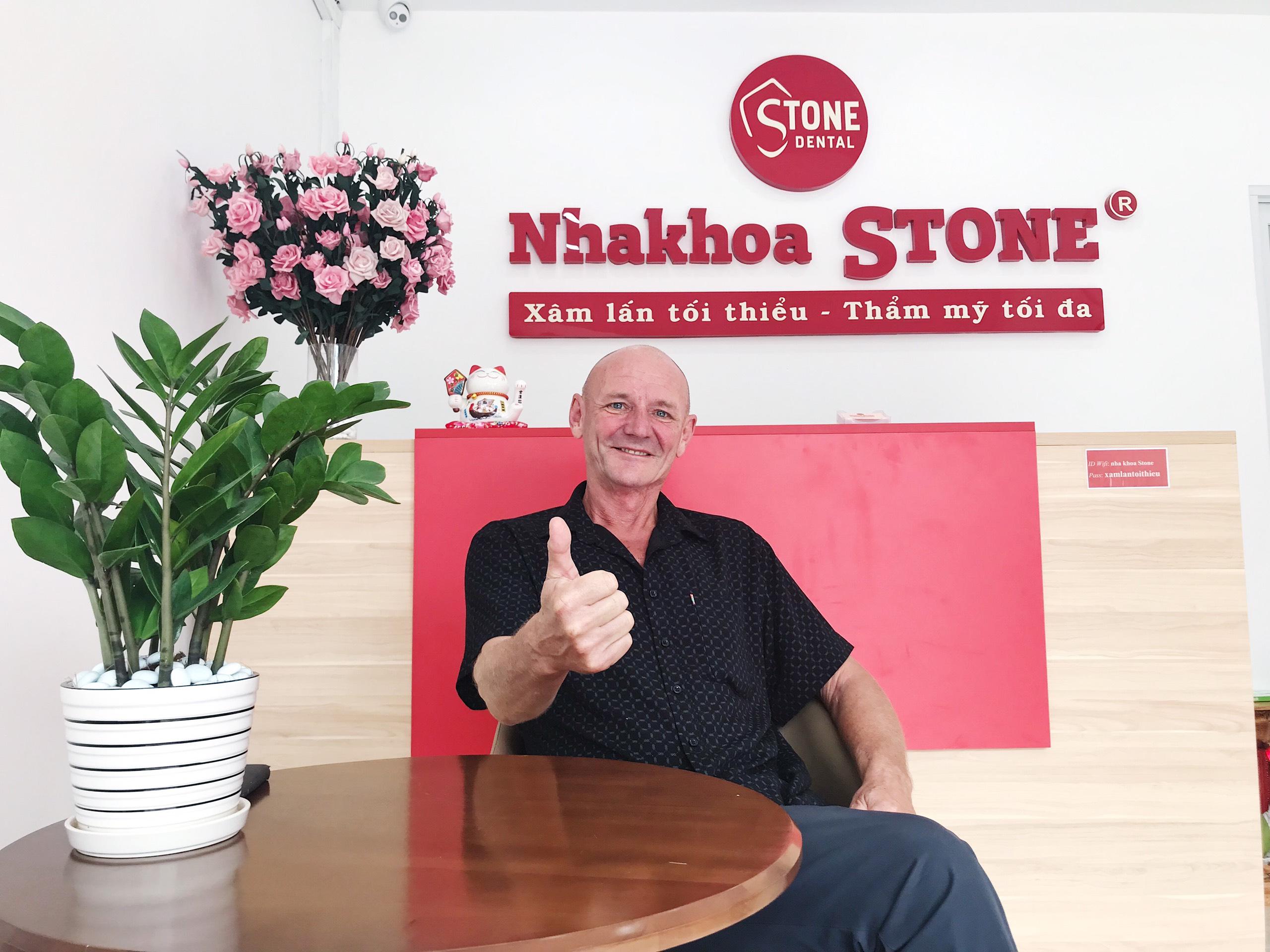 sự hài lòng từ khách hàng của nha khoa stone